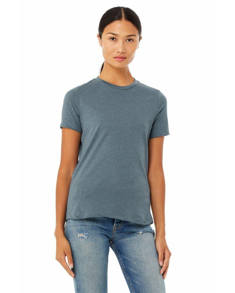 Bella+Canvas 6400CVC - T-Shirt à manches courtes Ladies Relaxed Heather Cvc