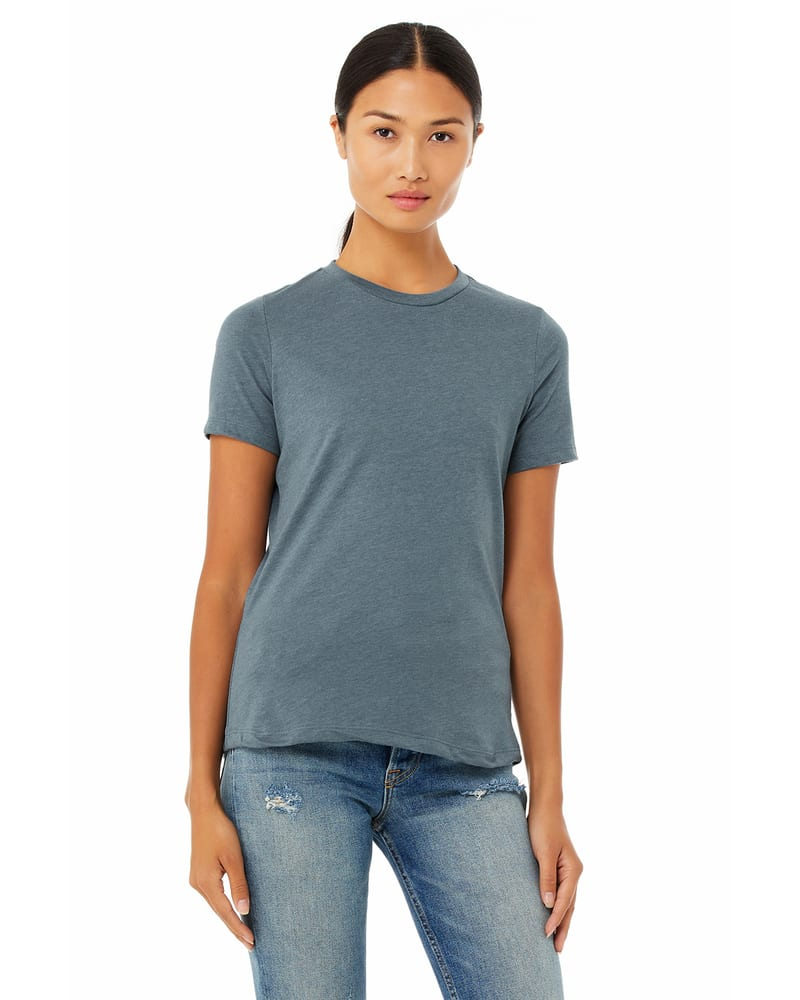 Bella+Canvas 6400CVC - Ladies Relaxed Heather CVC Short-Sleeve T-Shirt