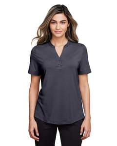 North End NE100W - Polo Jaq Snap-Up Stretch Performance pour femme