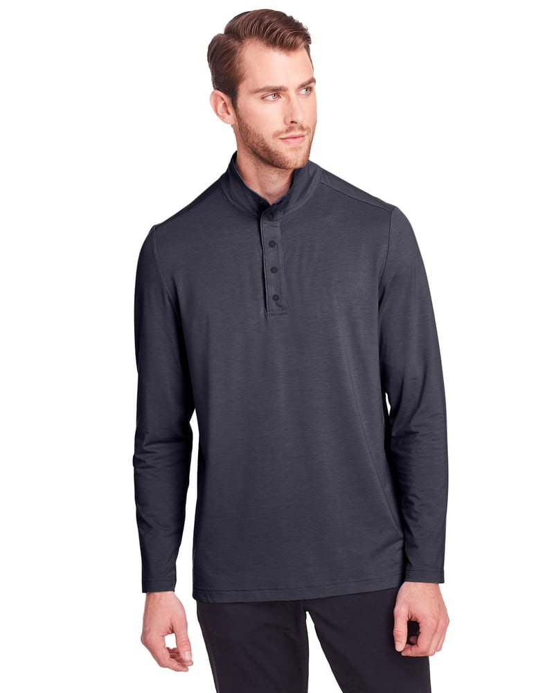 North End NE400 - Chandail Jaq Snap-Up Stretch Performance pour homme