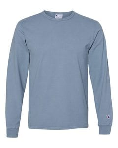Champion CD200 - Adult Garment Dyed Long Sleeve Tee