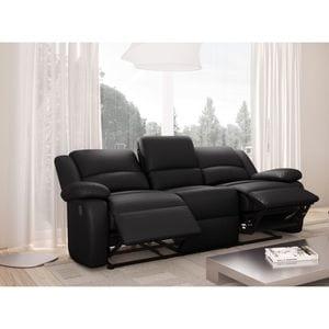 Atelier Mundo SJ-416 - Canapé de relaxation 3 places en simili