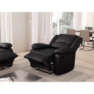 Atelier Mundo SJ-402 - Fauteuil de relaxation en simili