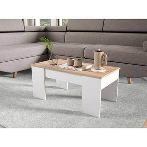 Atelier Mundo SJ-272 - Table basse avec plateau relevable