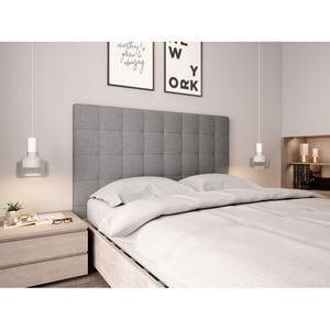 Atelier Mundo SJ-571 - Tête de lit capitonnée en tissu