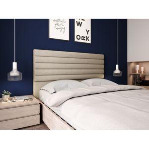 Atelier Mundo SJ-592 - Tête de lit aspect bombé en tissu