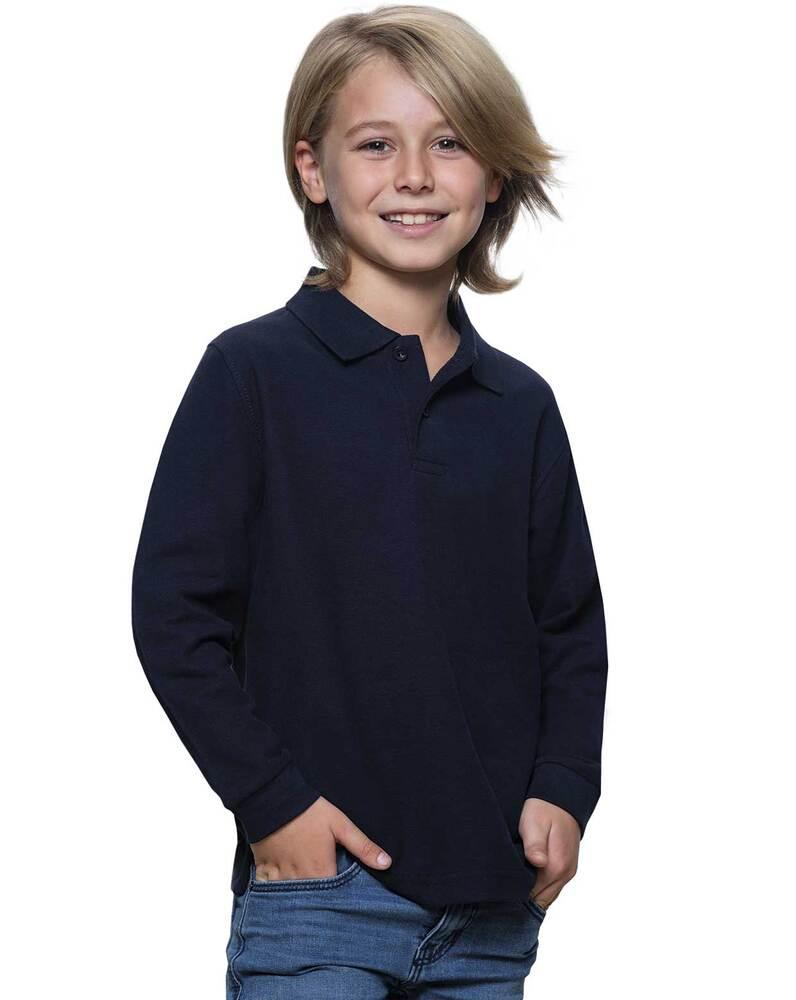 JHK PKID210LS - Kid LS Polo