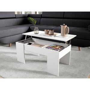 Atelier Mundo SA-206 - Table basse avec plateau relevable