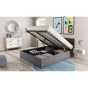 Atelier Mundo SA-308 -  Cadre de lit avec coffre et tête de lit
