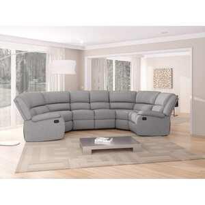 Atelier Mundo SA-338 - Canapé panoramique de relaxation 8 places en tissu