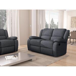 Atelier Mundo SA-341 - Canapé de relaxation manuel 2 places en tissu