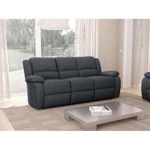 Atelier Mundo SA-342 - Canapé de relaxation manuel 3 places en tissu