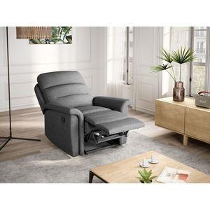 Atelier Mundo SA-346 - Fauteuil de relaxation manuel en tissu