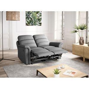 Atelier Mundo SA-347 - Canapé de relaxation manuel  2 places en tissu