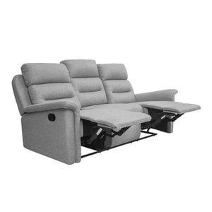 Atelier Mundo SA-348 - Canapé de relaxation manuel 3 places en tissu