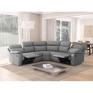 Atelier Mundo SA-433 - Canapé de relaxation panoramique 6 places en tissu