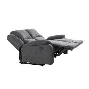 Atelier Mundo SA-446 - Canapé de relaxation électrique 2 places en tissu