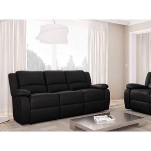 Atelier Mundo SA-447 - Canapé de relaxation électrique 3 places en simili