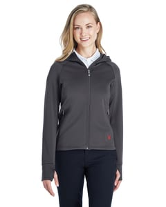 Spyder 187331 - Ladies Hayer Full-Zip Hooded Fleece Jacket