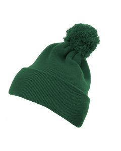Yupoong 1501P - Cuffed Knit Beanie with Pom Pom Hat