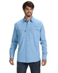 Dri Duck DD4405 - Mens 100% polyester Long-Sleeve Fishing Shirt