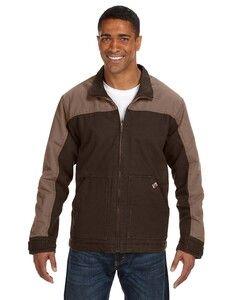 Dri Duck 5089T - Mens 100% Cotton 12oz Canvas/3oz Polyfill Insulation Tall Horizon Jacket