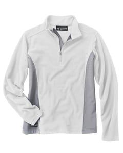 Dri Duck 9346 - Ladies 4.5oz 100% Polyester Nano Fleece TM 1/4 Zip Pullover
