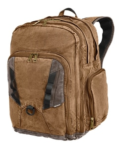 Dri Duck DI1039 - Heavy Duty Traveler Canvas Backpack