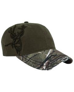 Dri Duck DI3307 - Brushed Cotton Twill Buck 3D Cap