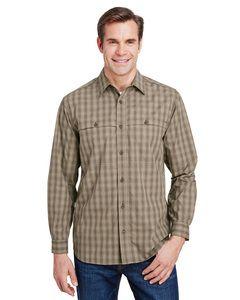 Dri Duck 4465 - Yarn-Dyed Poplin Paseo Plaid Shirt