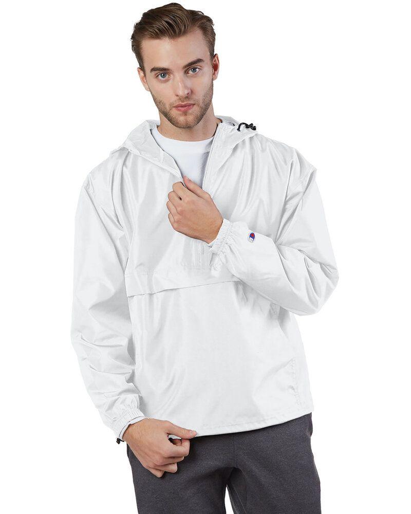 Champion CO200 - Adult Packable Anorak 1/4 Zip Jacket