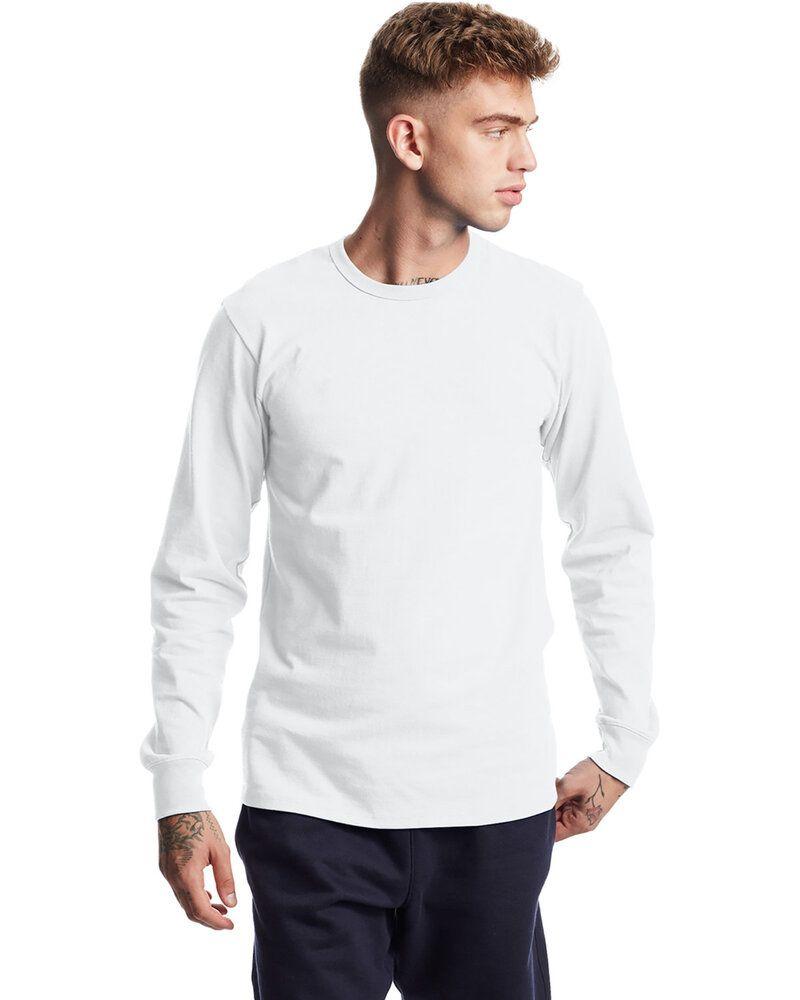 Champion T453 - T-Shirt unisexe à manches longues Heritage