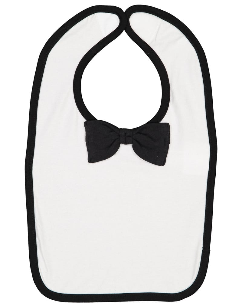 Rabbit Skins R1002 - Infant Baby Rib Bow Tie Bib
