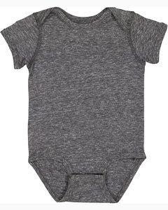 Rabbit Skins 4491 - Body en jersey mélangé Harborside pour bébé