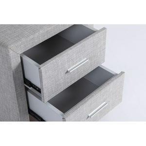 Atelier Mundo SA-412 - Table de chevet en tissu