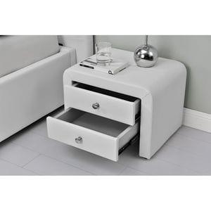 Atelier Mundo SA-409 - Table de chevet en simili