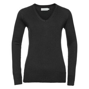 Russell R710F - V Neck Knitted Pullover Ladies