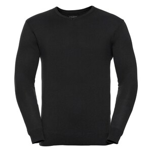 Russell R710M - V Neck Knitted Pullover Mens