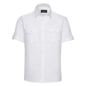 Russell Collection R919M - Roll Sleeve S/S Shirt Mens