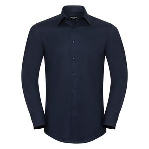 Russell Collection R922M - Oxford Tailored Easy Care L/S Shirt Mens