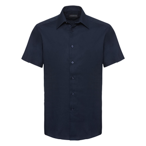 Russell Collection R923M - Oxford Tailored Easy Care S/S Shirt Mens