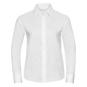 Russell Collection R932F - Ladies Oxford L/S Shirt 135gm