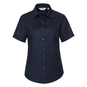 Russell Collection R933F - Ladies Oxford S/S Shirt 135gm