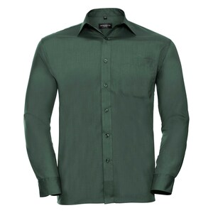 Russell Collection R934M - Mens Poplin Shirts L/S 110gm