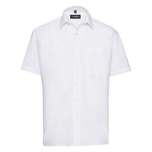 Russell Collection R935M - Mens Poplin Shirts S/S 110gm