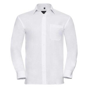 Russell Collection R936M - Poplin Easy Care Pure Cotton L/S Shirt Men