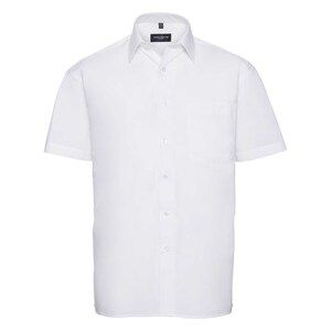 Russell Collection R937M - Poplin Easy Care Pure Cotton S/S Shirt Men