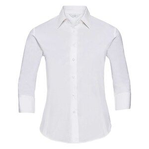 Russell Collection R946F - Easy Care Fitted 3/4Sleeve Shirt Ladies