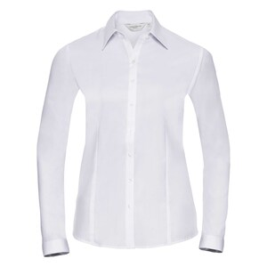 Russell Collection R962F - Herringbone L/S Ladies Shirt