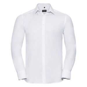 Russell Collection R962M - Herringbone L/S Mens Shirt